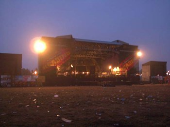 The Main Stage At Night