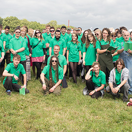 DC Site Services 2013 Glastonbury Festival staff
