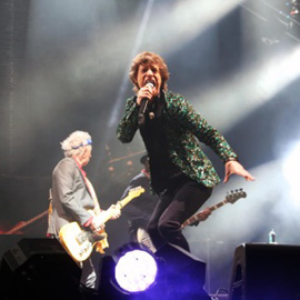 Rolling Stones at 2013 Glastonbury Festival by Jason Bryant