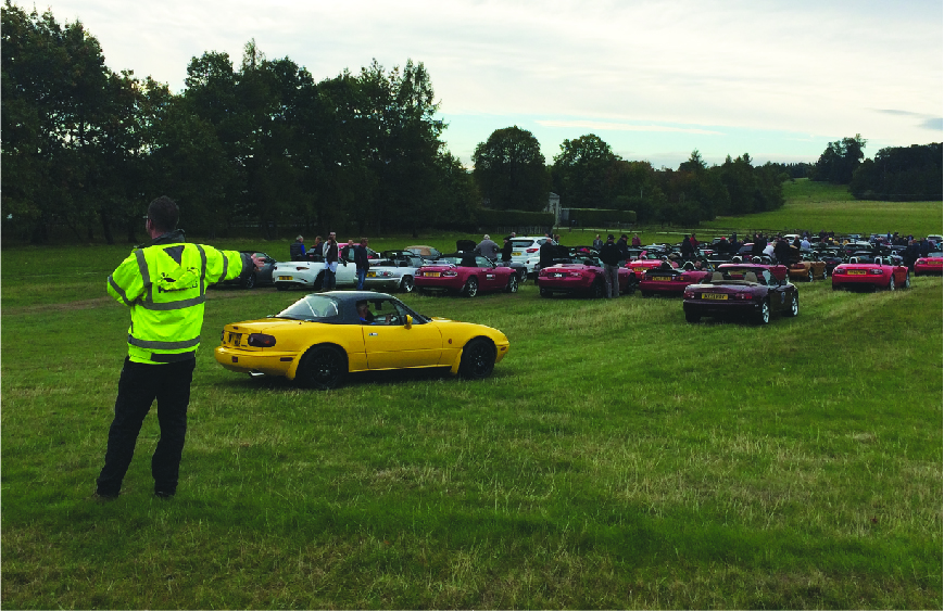 Event Traffic Management and Car Parking Services