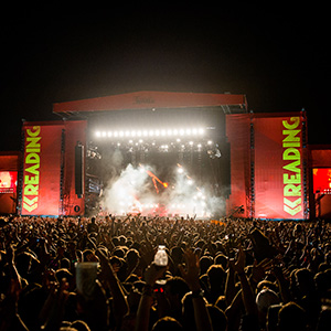 Reading and Leeds Festival paid staff jobs - Chase and Status Reading Stage and Crowd by Mark Sethi