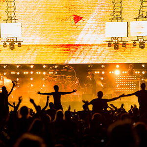 2014 Reading and Leeds Festival - Chase and Status on Reading stage by Marc Sethi